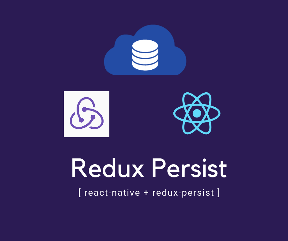 How to use redux persist with react native